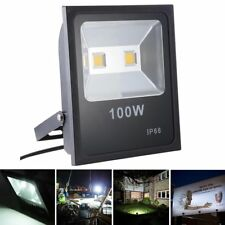 100W Outdoor Commercial Led Flood Light Waterproof Lamp Ip66 Security Spotlight