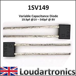 1SV149 (MVAM109) 19.9 - 540 pF Varicap Diode / Varactor