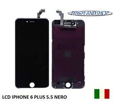 TOUCH SCREEN+LCD DISPLAY RETINA + FRAME PER APPLE IPHONE 6 PLUS 5.5  NERO