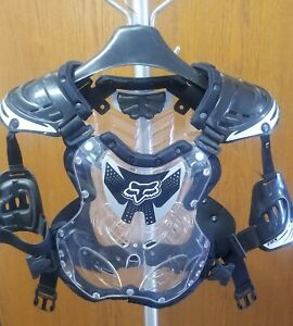 Fox Racing Motocross MX ATV Chest Protector Motorcycle Adult Mens Size M/L Moto