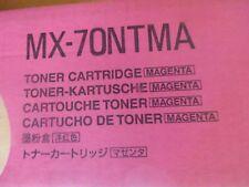 NEW OEM SHARP MAGENTA TONER MX-70NTMA Sharp MX-5500N, Sharp MX-6200N