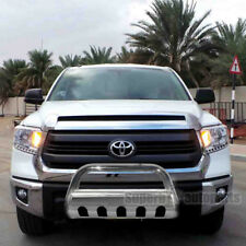 "for Toyota 07-18 Tundra 08-18 Sequoia 3"" S/S Bull Bar Push Guard+Skid Plate"