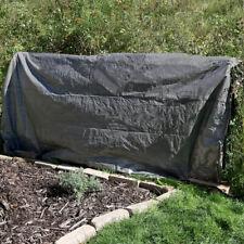 Sunnydaze 6 x 8' Reversible Waterproof Multi Purpose Poly Tarp/Cover - Dark Gray