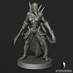 Dark Kin Female Warriors x 5  Proxy For Drukhari Wracks Edge Miniatures