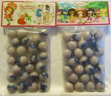 2 Bags Of Strawberry Shortcake Promo Marbles