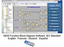 PLC Software Programming Function Logic Simulation Developing Basic Automation
