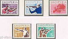 1965 Albanië 934-938 EK schieten  / EC shooting