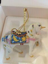 Lenox Carousel Unicorn Ornament 1989 Christmas Animal Collection