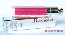 NIB Christian Dior Addict Ultra-Gloss Glow 664 ROSE BIKINI Full Size Lipgloss