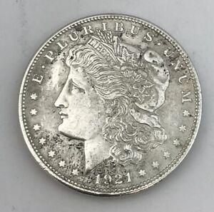 1921 Silver Morgan Dollar No Reserve