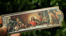 The Last Supper Jesus Christ BOOKMARK Religious Christian Gift Made in Holy Land