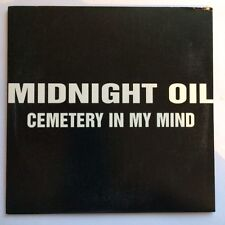"MIDNIGHT OIL ""Cemetary In My Mind CD Pro"" Rare 1998 1Trk Promo CD  *Col:SAMP2017"