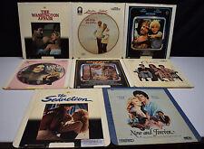Vintage Lot of 8 Drama CED Videodisc Movies Selectavision Washington Affair