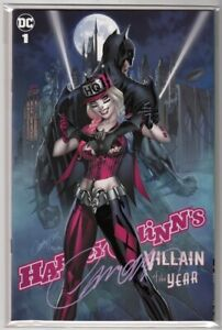 Harley Quinn's Villain of the Year #1 NM+ Campbell Variant Cover C Signed COA