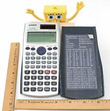 Casio fx-115 Es Calculator for Log/Cos/Sin/Tan, etc. Figuring 2-Way Power