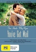 You've Got Mail (Deluxe Edition) * NEW DVD * Tom Hanks Meg Ryan Greg Kinnear