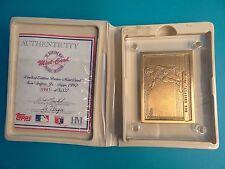 The Highland Mint Card Topps 1992 Bronze 0941 Ken Griffey Jr Baseball Card