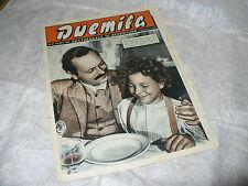 DUEMILA SETTIMANALE DI AVVENTURE N.39 1951 RARA RIVISTA FOTOROMANZI VARIETA'