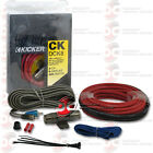 BRAND NEW KICKER 09DCK8 8 GAUGE 2 CHANNEL AMPLIFIER INSTALLATION KIT