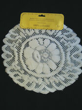 """6x Lace Doily 8"""" White Doilies Nice Pattern 100% Polyester Brand New"""