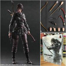 "Rise of the Tomb Raider Lara Croft Arts Kai Action Figure Square Enix 10"""