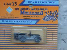 Roco / Herpa Minitanks (NEW) WWII US M-38 A1 Willys Jeep W/Canopy Lot# 1867