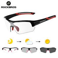 ROCKBROS Photochromic Cycling Bicycle Glasses Outdoor Sports MTB Bike Sunglasses