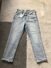 River Island High Rise Mom Jeans Size 8R NEW