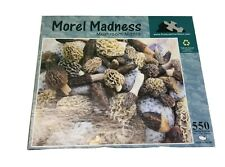 Puzzles That Rock  MOREL MADNESS  550pc 18x24  Mushroom Mania Puzzles That Rock
