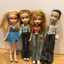 Bratz Doll Bundle 4 Dolls Boy Boyz Passion 4 Fashion Safari Meygan Eitan