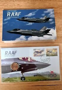 RAAF CENTENARY 2021 -  LIMITED EDITION PNC (7,500 only)+ RAAF  Stamp Minisheet