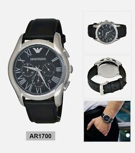 Original Emporio Armani Uhr Casual Analog Classic Chronograph Herren AR1700