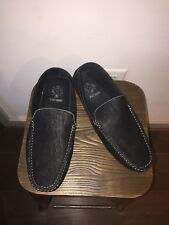 Stacy Adams Men's Pippin-Perfed Driving Moc Oxford Casual Loafer Shoe Black 10.5