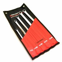 Extra Long Double Ended Ring Spanner Aviation Wrench 8mm - 19mm 5pc Set