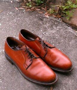 Alden Brown Handcrafted Dress Shoes 9 D USA