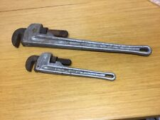 "Ridgid Aluminum Heavy Duty 24"" & 14"" Straight Pipe Wrenches"
