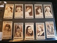Cinema Stars - Lloyds Cigarette Cards (1937) Complete Your Set - Buy 2 & Save