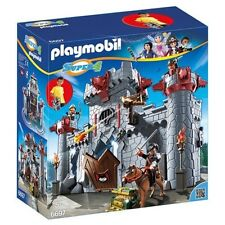 Playmobil 6697 Super 4 Kingsland Take Along Castle Ages 5+ New Toy Play Boys Fun