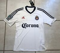 NWT ADIDAS Chivas USA  MLS  2012 WHITE Training Jersey Men's Small