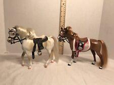 Grand Champion Lot '88 '94 Vintage Marchon 6� Horses with Saddles Tack