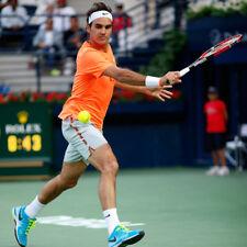 ROGER FEDERER Indian Wells 2015 Tennis Pantaloni corti da Nike-SUPER RARA Adulto XXL
