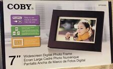 "Coby 7"" Widescreen Digital Photo Frame SHIPS TOMORROW"