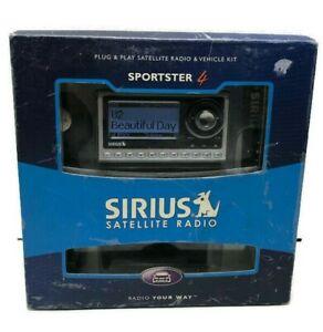 Sirius Sportster SP4-TK1R Plug & Play Satellite Radio System and Vehicle Kit NEW