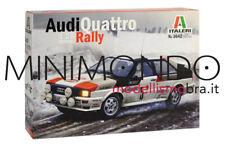 KIT AUDI QUATTRO RALLY MONTECARLO 1981 MIKKOLA HERTZ 1/24 ITALERI 3642