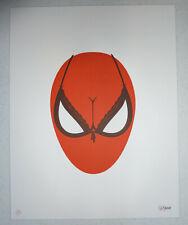 Olly Moss *SPIDERBOOBS* 2012 Marvel Spider-Man Signed AP 14/30 Letterpress Print
