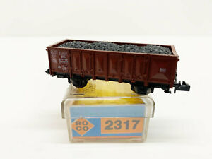 2317 High-Sided With Charge DB, N Gauge Roco Boxed Top