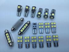 BMW X3 F25 FULL LED Interior Lights kit set 20 pcs SMD Bulbs White GR