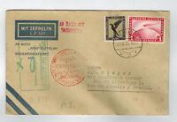 1931 Germany Graf Zeppelin Cover to Brazil South America Flight LZ 127 Sieger