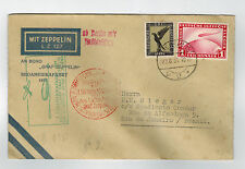 1931 Germany Graf Zeppelin Cover to Brazil South America Flight LZ 127 Sieger