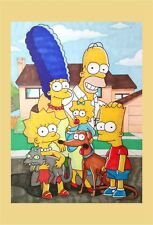 The Simpsons A4 Print